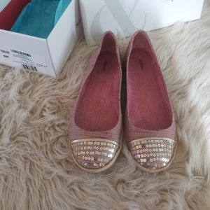 Style & Co. Pearlpink Berry espadrille flats